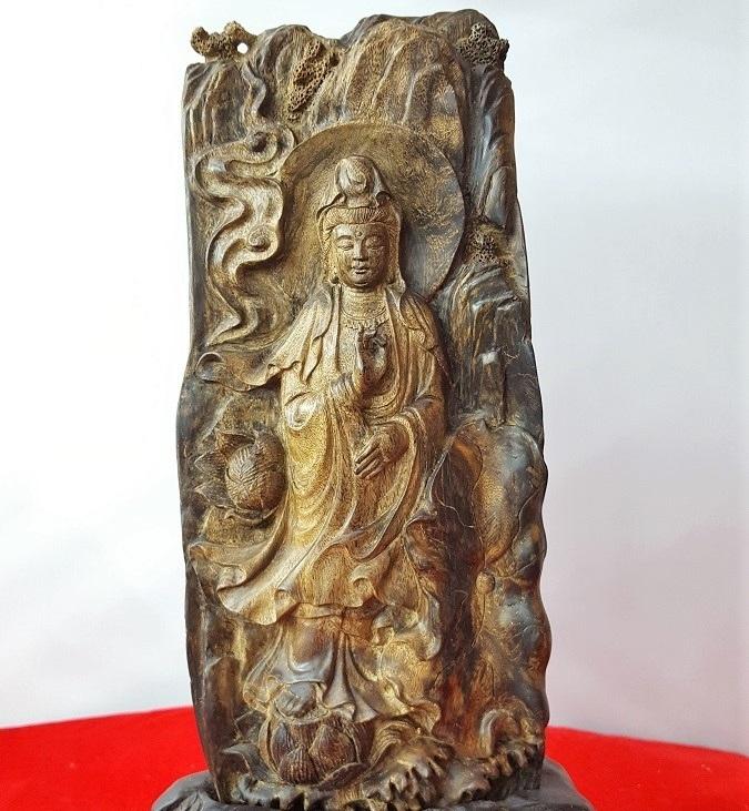 Phật bà tọa Liên hoa C250