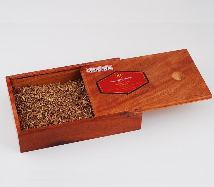 Sánh vụn nhỏ hộp gỗ loại 50g
