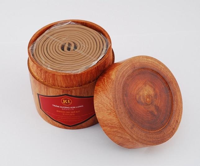 Nhang vòng gỗ nhỏ