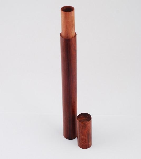 Ống gỗ đựng nhang 10g