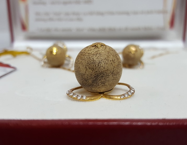 Bộ vòng trang sức bằng vàng C30