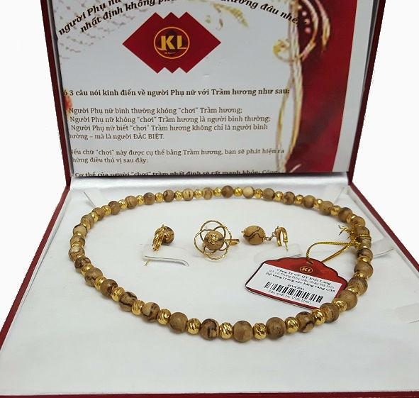 Bộ vòng trang sức bằng vàng C35