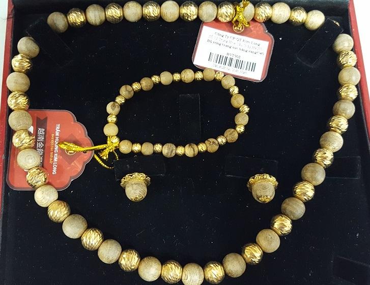 Bộ vòng trang sức bằng vàng C40