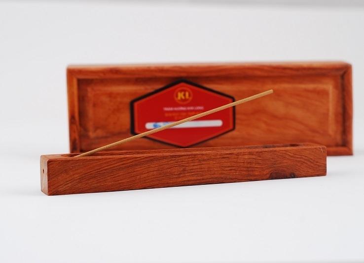 Nhang ống hộp gỗ cao cấp
